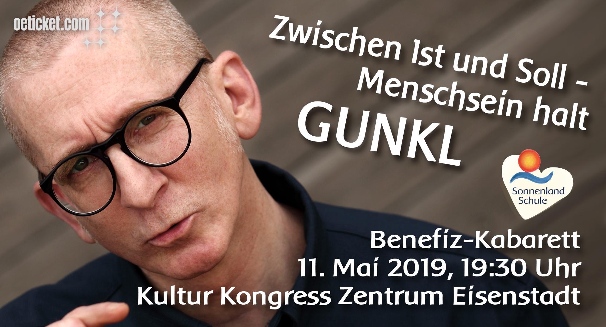 Benefiz-Kabarett Gunkl