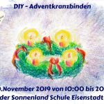 DIY Adventkranzbinden 30.11.2019