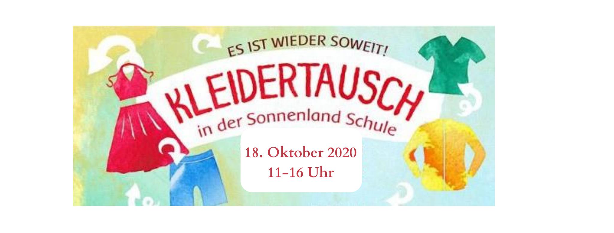 Header Kleidertausch 18. Oktober 2020